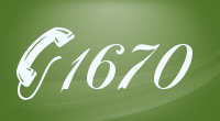 1670 country code